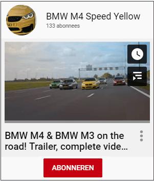 <a target='_Blank' href='https://www.youtube.com/c/BMWM4SpeedYellow'>M4 SpeedYellow</a>